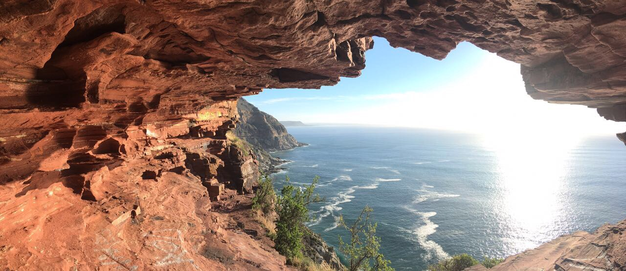 Looking Out from Chapman's Peak Drive