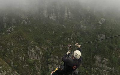 Ziplining in Grabouw: Flying with Angels